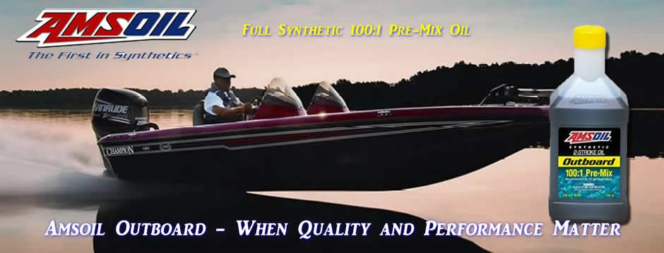 Amsoil Outboard 100:1 Synthetic 2 stroke Oil